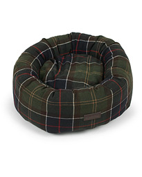 Barbour International Small Tartan Donut Dog Bed Classic