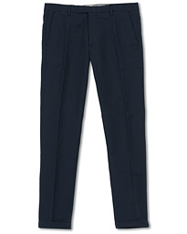 NN07 Scott Regular Fit Stretch Trousers Navy Blue