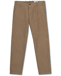 NN07 Steven Regular Fit Stretch Chinos Green Stone