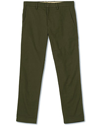 Theo Regular Fit Stretch Chinos Army Green
