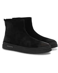 GANT Creek Curling Boot Black Suede