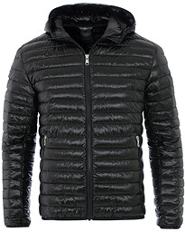 Colmar Behind High Shine Hooded Jacket Black