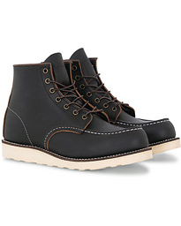 Moc Toe Boot Black Prairie Leather