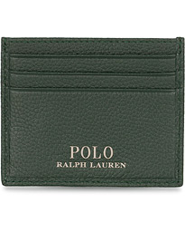 Polo Ralph Lauren Credit Card Holder Racing Green Leather
