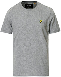 Lyle & Scott Crew Neck T-shirt Mid Grey Marl