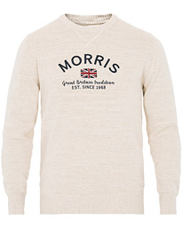 Morris Travis Oneck Off White Melange