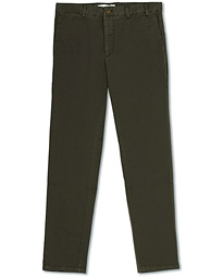 Norse Projects Aros Slim Light Stretch Chinos Ivy Green