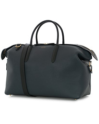 Smythson Zip Guard Holdall Weekendbag Sage Green