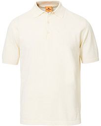 Andersen-Andersen Organic Cotton Short Sleeve Polo Off White
