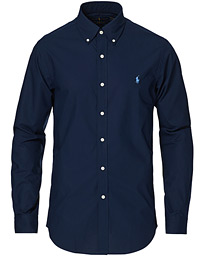 Polo Ralph Lauren Slim Fit Shirt Poplin Newport Navy