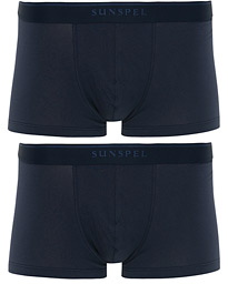 2-Pack Cotton Stretch Trunk Navy