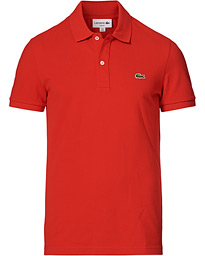 Slim Fit Polo Piké Red