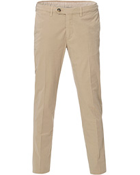 Canali Cotton Stretch Chinos Beige