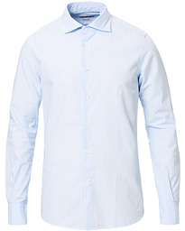 Glanshirt Soft Bastoncino Cotton Shirt Light Blue