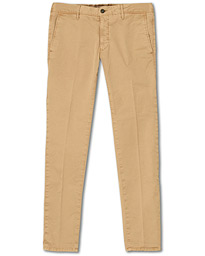 Incotex Slim Fit Garment Dyed Slacks Khaki