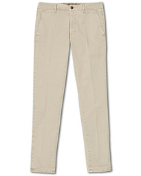 Incotex Slim Fit Garment Dyed Slacks Sand