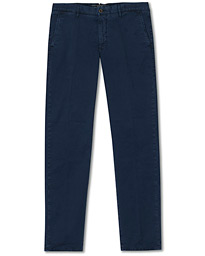 Incotex Regular Fit Garment Dyed Slacks Navy