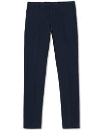 Incotex Slim Fit Stretch Chinos Navy
