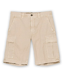 Incotex Cotton Cargo Shorts Beige
