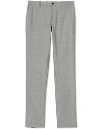 Incotex Urban Traveller Techno Wool Trousers Light Grey
