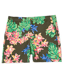 Polo Ralph Lauren Prepster Printed Flower Shorts Olive