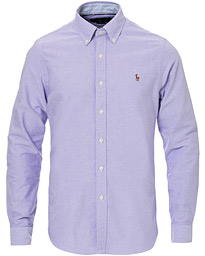 Polo Ralph Lauren Slim Fit Oxford Contrast Shirt Grape