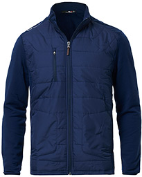 RLX Ralph Lauren Cool Wool/Nylon Hybride Jacket French Navy