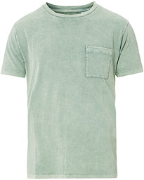 Levi's Made & Crafted Crew Neck Pocket Tee Washed Laurel Green