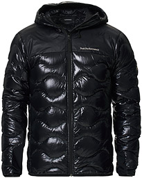 Peak Performance Helium Glacier Hooded Jacket Black