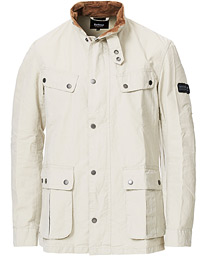 Barbour International Summer Wash Duke Casual Jacket Clay
