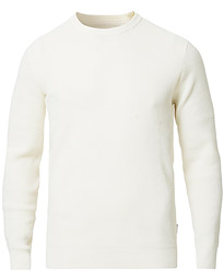 Barbour Lifestyle Fjord Crew Neck Ecru