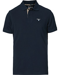 Barbour Lifestyle Tartan Pique Polo New Navy
