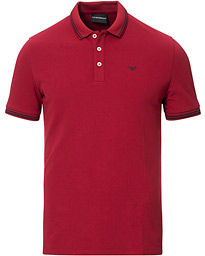 Emporio Armani Polo Wine Red