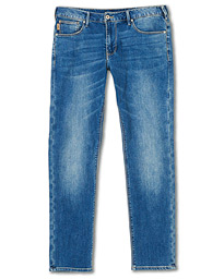 Emporio Armani J06 Slim Fit Jeans Light Wash