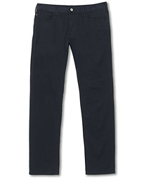Emporio Armani J06 Slim Fit 5-Pocket Trousers Navy