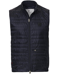Woolrich Quilted Vest Navy