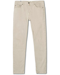 Morris James Textured 5-Pocket Pants Khaki