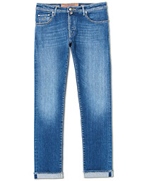 Jacob Cohën 622 Limited Edition Slim Fit Jeans Mid Blue