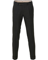 Morris Heritage Fred Rustico Turn Up Trousers Brown