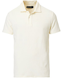 Morris Heritage Lenno Short Sleeve Terry Poloshirt Off White