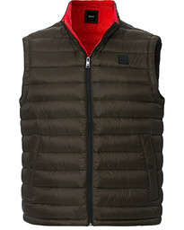 BOSS Chroma Down Vest  Open Green