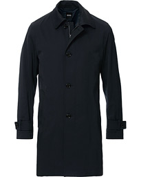 BOSS Dain Car Coat Dark Blue