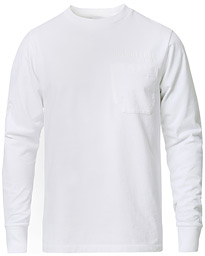 Helmut Lang Standard Long Sleeve Tee Chalk White