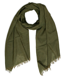 Fiji Cotton/Linen Scarf Army