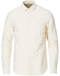 Filippa K Tim Oxford Shirt Faded Yellow