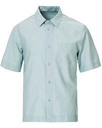 Filippa K Owen Short Sleeve Shirt Mint Powder