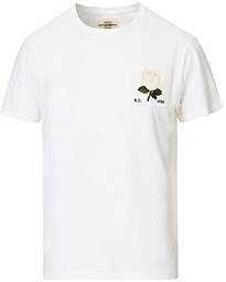 Rose Embroidered T-Shirt White