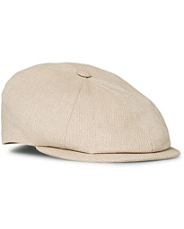 Lock & Co Hatters Summer Reverb Cotton Cap Beige