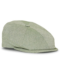 Lock & Co Hatters Summer Reverb Cotton Cap Green
