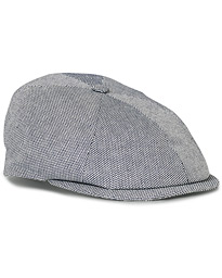 Lock & Co Hatters Summer Reverb Cotton Cap Blue